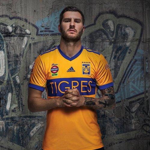 Maillot Tigres UANL 2018 Pas Cher (2).jpg
