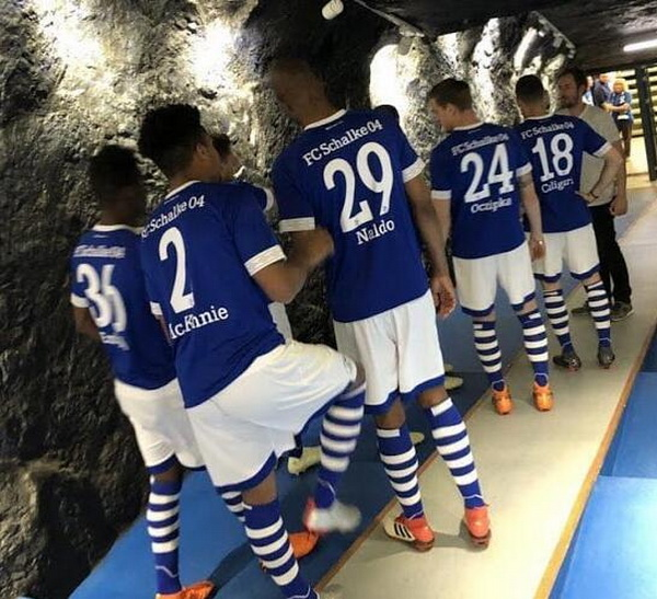 Maillot de foot Schalke 04 2019 pas cher (7)